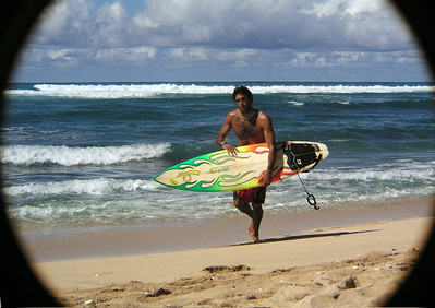 Surfer on the North Shore  2003