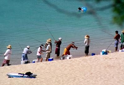 Interesting group at Waimea Bay  2003