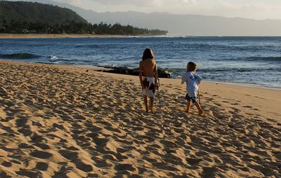Sunset Beach, North Shore of O'ahu, Hawai'i