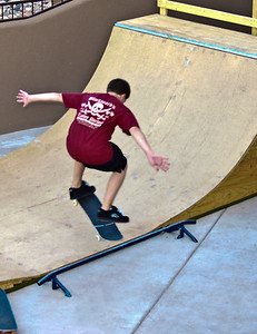 Teenage boy, a Skateboarding Pro!