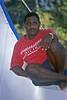 Solomon Islands man taking a break - Honiara, Solomon Islands