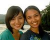 Island girls in North Sulawesi, Indonesia