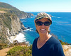 Lori Kane catching some rays on the Central California Coast in 2013.