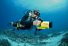 Underwater videographer extraordinaire, Porter Watson, at his home away from home outside Honokohau Harbor, Big Island, Hawaii