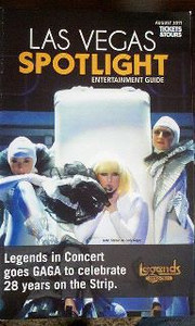 Magazine cover Gaga