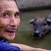 A Man and his Water Buffalo
