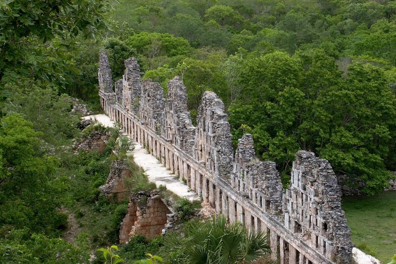 Mayan Ruins at Uxmal, Yucatan, Mexico