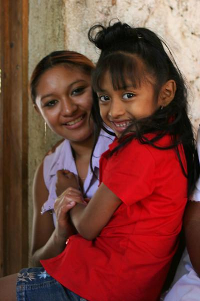 Mayan children<br /> Santa Elena, Yucatan, Mexico