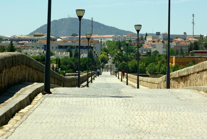 The Roman bridge, Merida, Spain