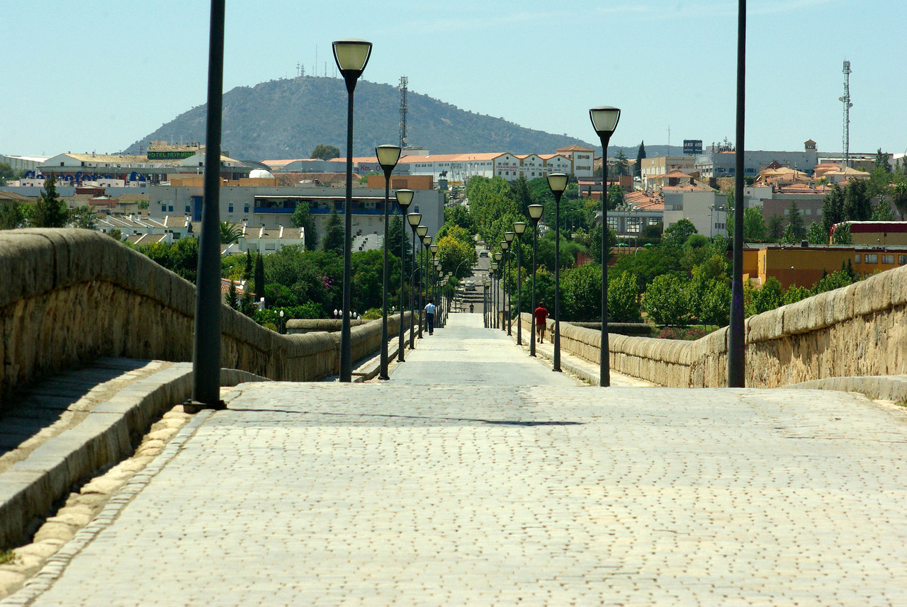 The Roman bridge, Merida, Spain