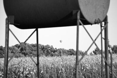 Hot air balloonist