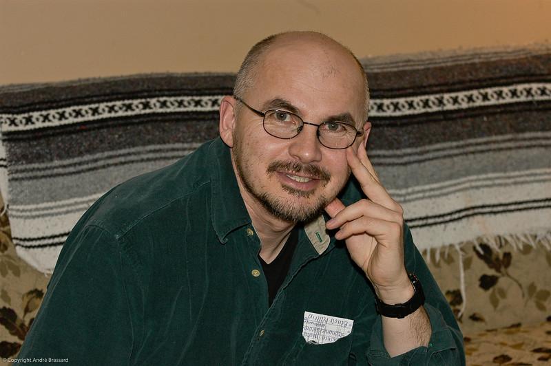 Magazine editor Bob Mesher for Makivik News.