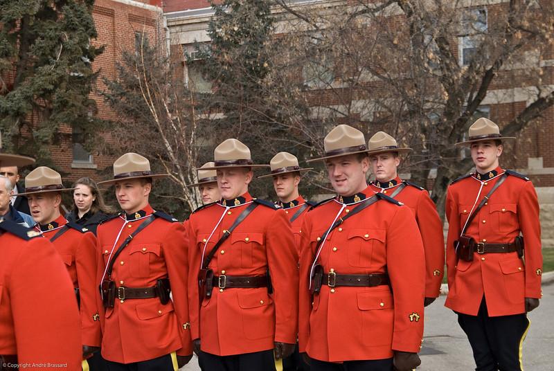 New R.C.M.P. graduates in Regina November 19, 2007