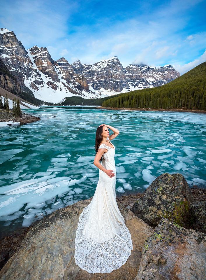 The Bride of Moraine Lake