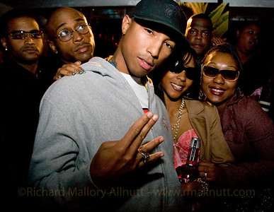 "Pharrell Williams hosts a NAVAN sponsored event at ""Love"" in Washington DC. His party includes rappers Roscoe P. Coldchain, Fam*lay, The Clipse, and Pusha T, among others."