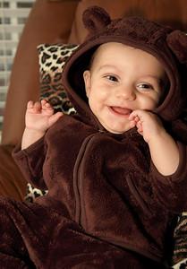 Baby Julian on Halloween 2009