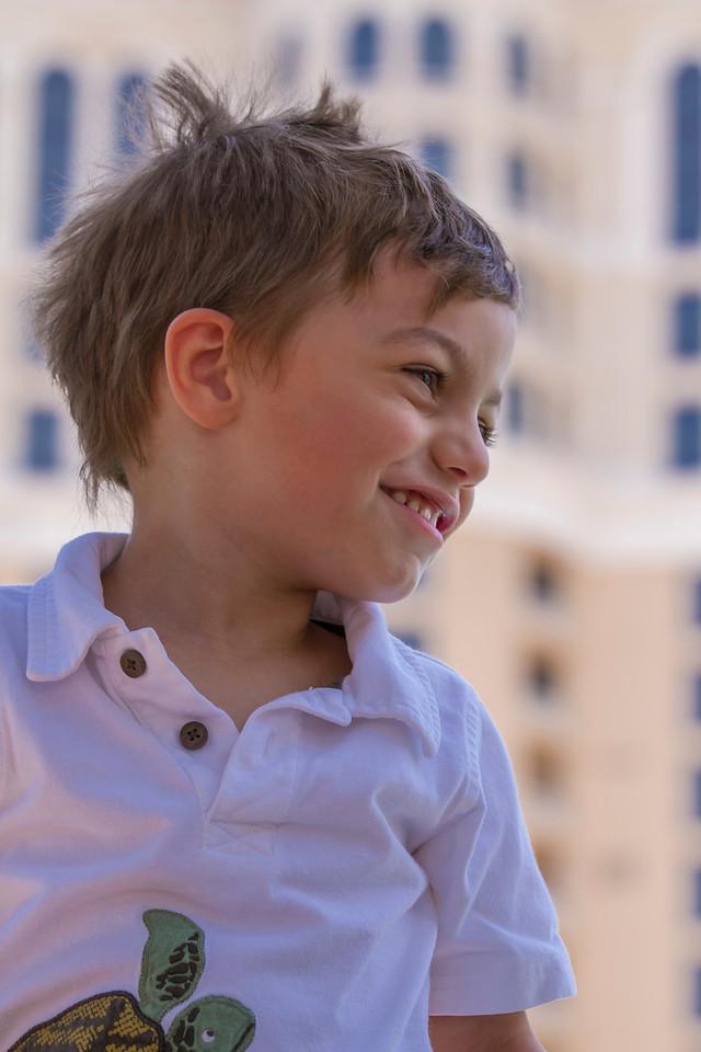 Big smiles from birthday boy, Las Vegas, NV