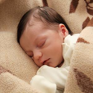 Little baby sleeping peacefully, Englewood, NJ