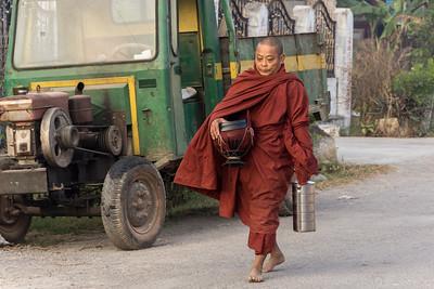 Buddhist monk, Nyaugshwe, Lake Inle,  Myanmar