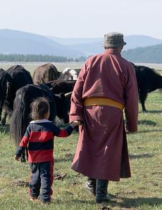 herding yaks...Lake Khovsgol, Mongolia