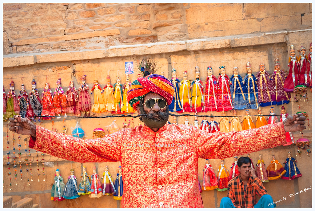 Man who once held the record for world's longest moustache! | Jaisalmer (Rajasthan)