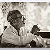 mybioscope > An old man contemplates over a smoke (bidi)