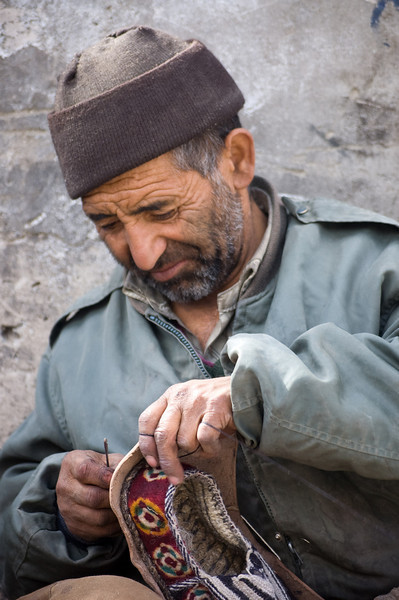 Cobbler<br /> Leh, Ladakh<br /> India 2008