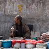 Sidewalk Vendor<br /> Leh, Ladakh<br /> India 2008