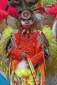 Pow Wow Dancer ~ This young dancer was photographed at the Morongo Band of Indians' Thunder & Lightning Pow Wow this weekend.