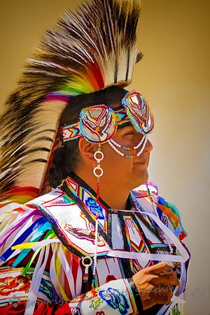 Dancer at the Pow Wow