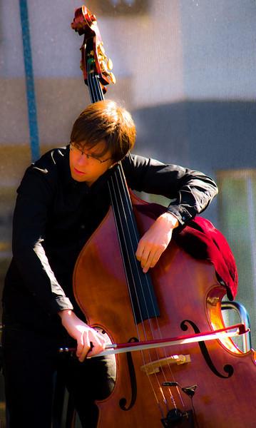 Outdoor concert at Nordland Musikkfestuke 2008