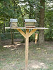 Agreat bird feeder - gee where is the one we were going to put in my yard