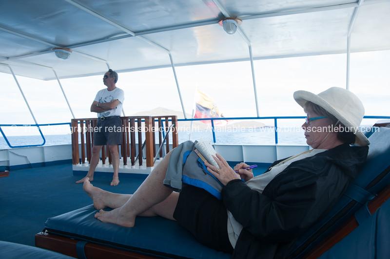 "Helen and Keith on board.           <a href=""http://www.blurb.com/b/3551540-galapagos-islands"">http://www.blurb.com/b/3551540-galapagos-islands</a>"