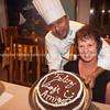 "Feliz viagi amigos, the chef and our faarewell cake.           <a href=""http://www.blurb.com/b/3551540-galapagos-islands"">http://www.blurb.com/b/3551540-galapagos-islands</a>"