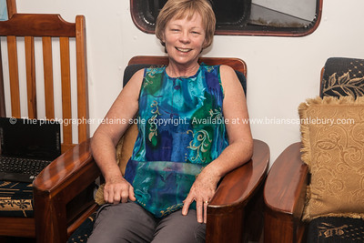 Helen, relaxing.          www.blurb.com/b/3551540-galapagos-islands