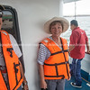 """Keith  and Helen, disembarking for the last time.           <a href=""""http://www.blurb.com/b/3551540-galapagos-islands"""">http://www.blurb.com/b/3551540-galapagos-islands</a>"""