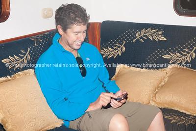 DAvid and his technology companion.          www.blurb.com/b/3551540-galapagos-islands