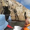 "Lion Rock through the gap.           <a href=""http://www.blurb.com/b/3551540-galapagos-islands"">http://www.blurb.com/b/3551540-galapagos-islands</a>"