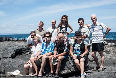 The group, on Sombrero Chino.          www.blurb.com/b/3551540-galapagos-islands