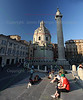 Trajan Column (Santa Maria di Loreto in background)