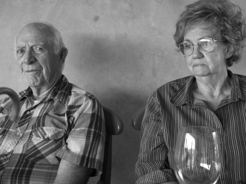 Mother and step father, Black Ankel Winery 2010 or 2011