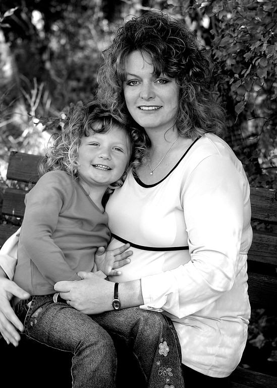 Tammy & her daughter Serena Grimm.  Tammy was pregnant with her son Carter at the time.
