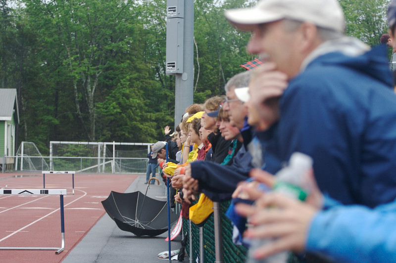 Freeport fans at Yarmouth during a soccer game