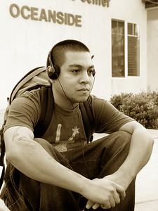 Joe Caluya of GuideBook Beats.    Check him out at www.myspace.com/guidebookbeats   (2005).