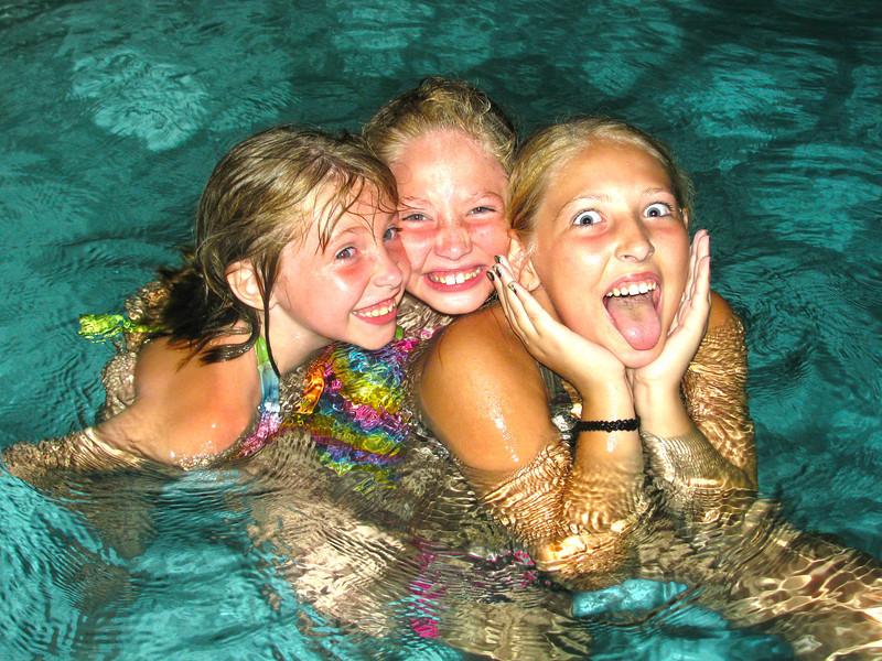 Liz's girls, Summer 2010