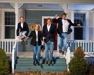 Dynamic Action Family Portrait