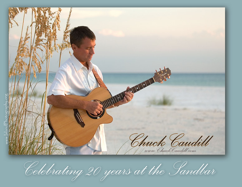 Chuck Caudill - over 20 years at the Sandbar!