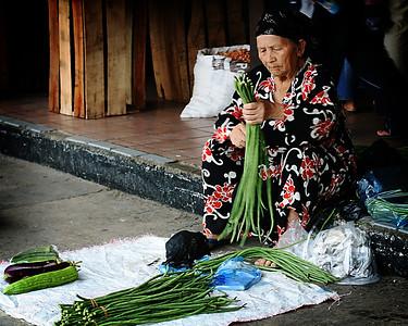 Vegetable Seller, Central Market, Kota Kinabalu