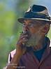 Don Julio having a smoke