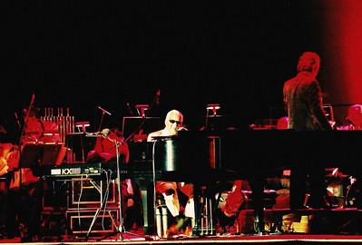Ray Charles. Taken in Knoxville, Tennessee.